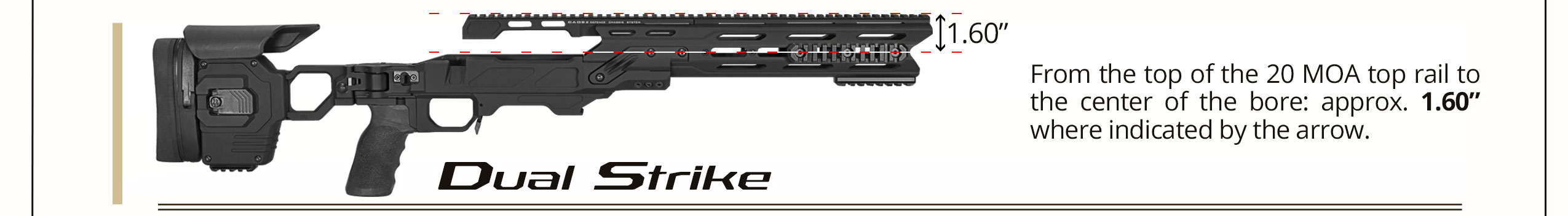 Dual-Strike-Bore-Height
