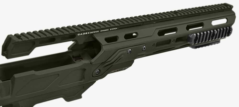 20 MOA full length Dual top rail