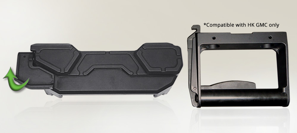 C16 Cover Latch & Handle