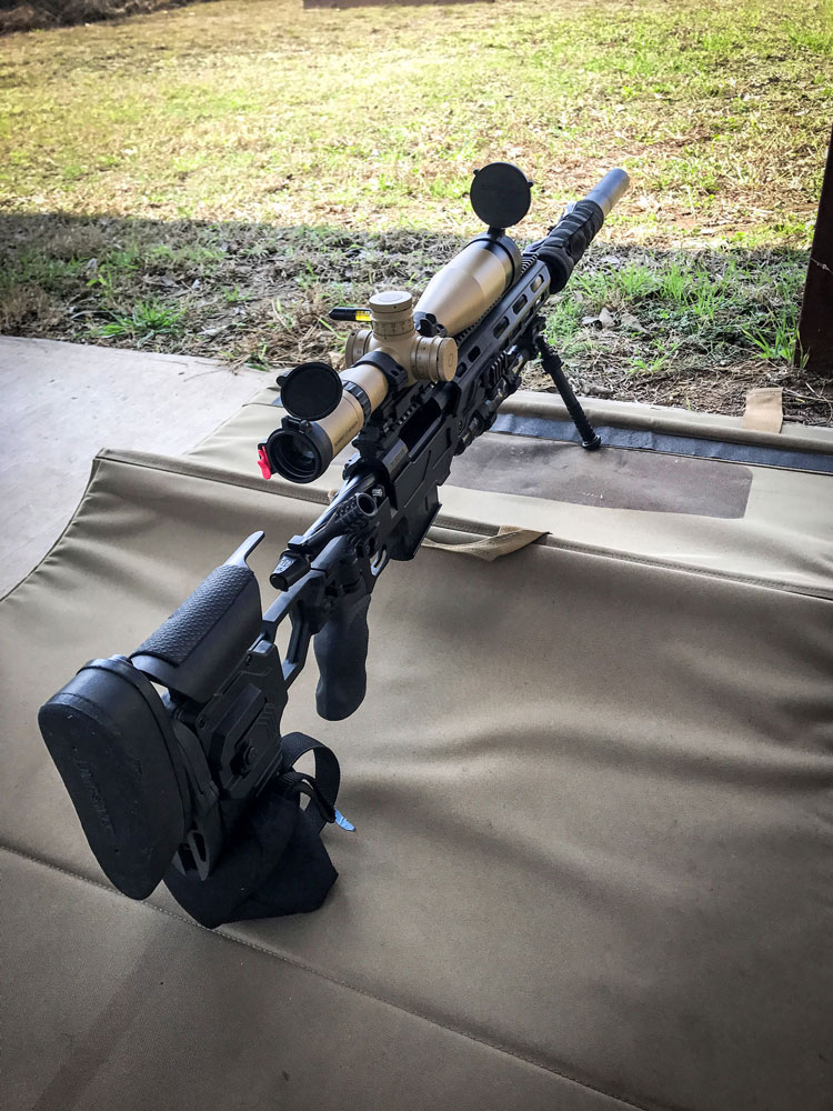 Dual Strike chassis for Stiller 1581XL 338 Lapua