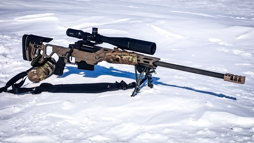 Field OT with skeleton stock upgrade for Rem 700 long action 300 Win Mag