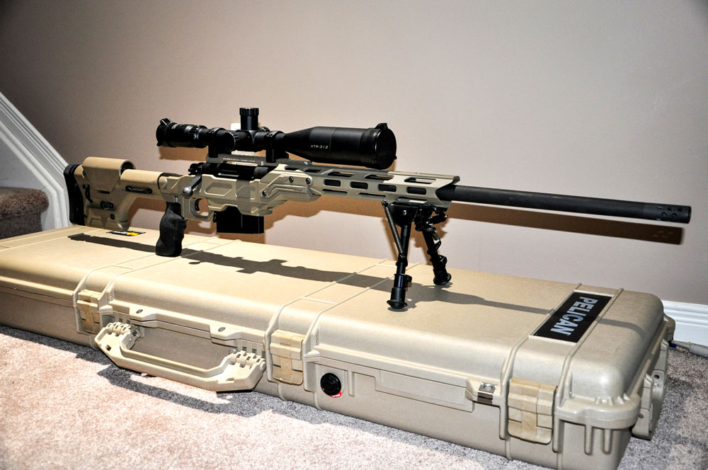 Remington 700 in 338 Lapua Magnum