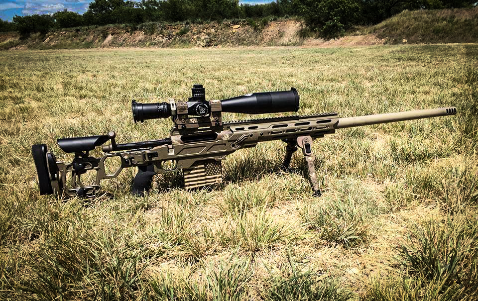Sweet build on a Dual Strike in 375CT and a Cadex Falcon bipod