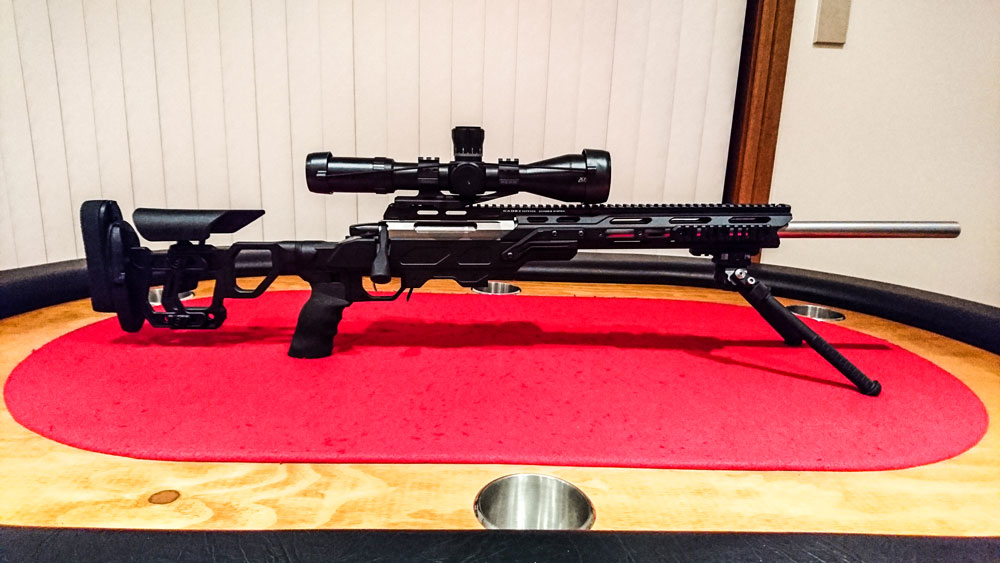 Tikka T3 with our Field Tactical chassis