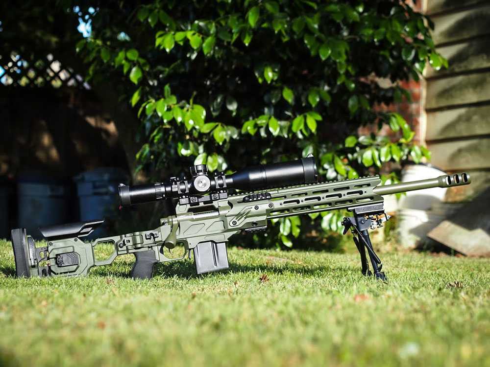 Dual Strike OD Green with a Remington 700 308 Win