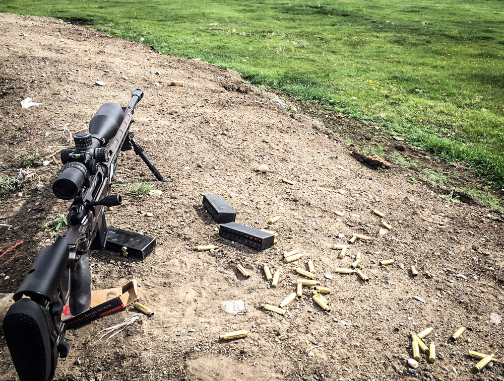 CDX-30 Guardian Lite hybrid Stealth Shadow color chambered in 6.5 Creedmoor