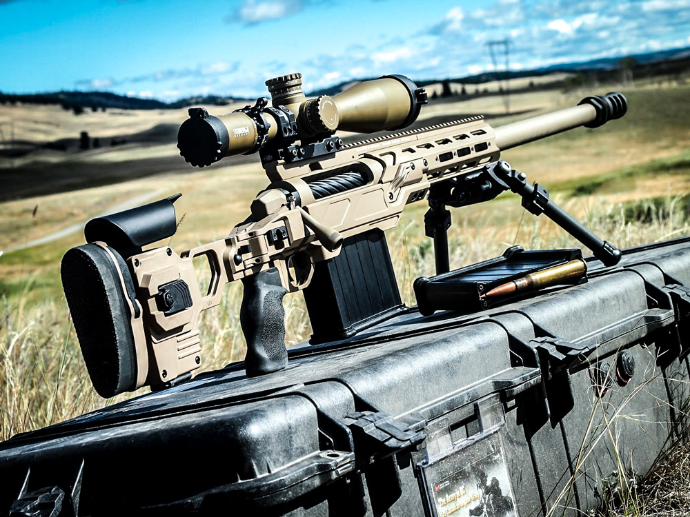 Dual Strike chassis housing an LRT-3 50BMG