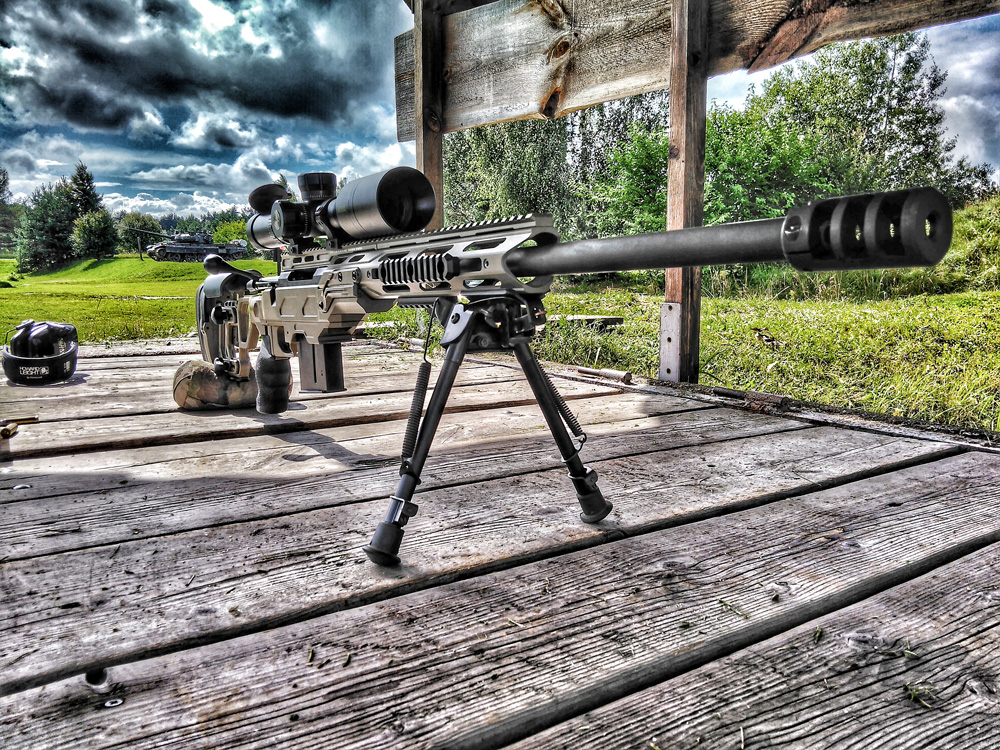 Tikka T3 in a Cadex Field Tactical chassis - Poland