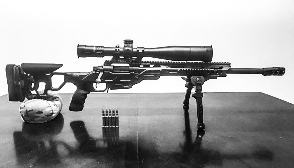 Field Tactical, Falcon Bipod and MX1 muzzle brake