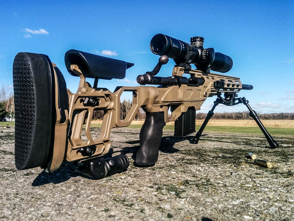 Field Tactical with the NEW Falcon Lite Bipod