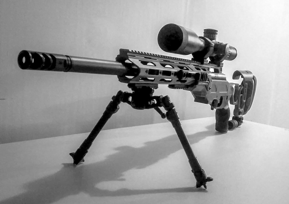 Field Tactical with the NEW Falcon Lite Bipod featuring the optional spikes