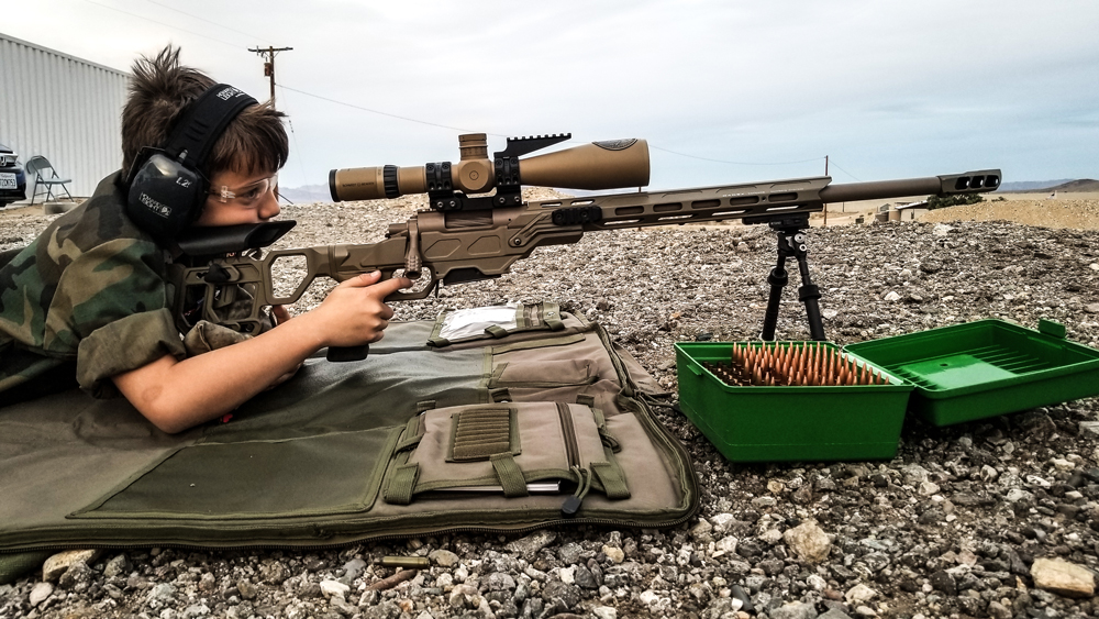 Atreyu, 11 years old with a Field Competition in 6.5 Creedmoor