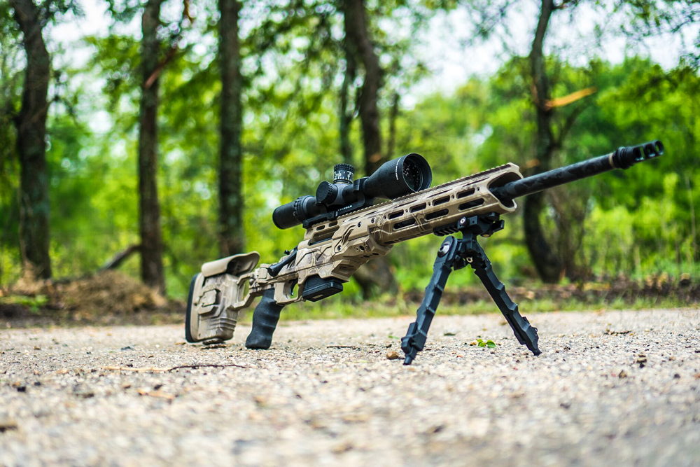 6.5 Creedmoor with custom Kryptek camo