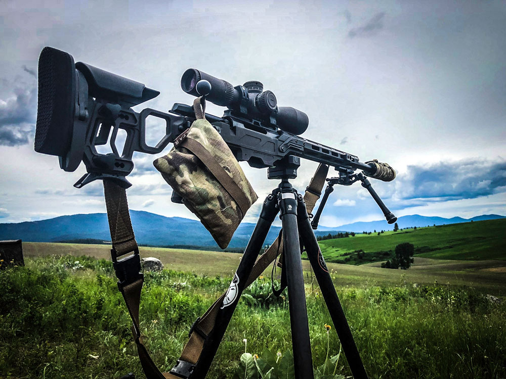 Lite Comp for Tikka T3 and our new Falcon Lite bipod