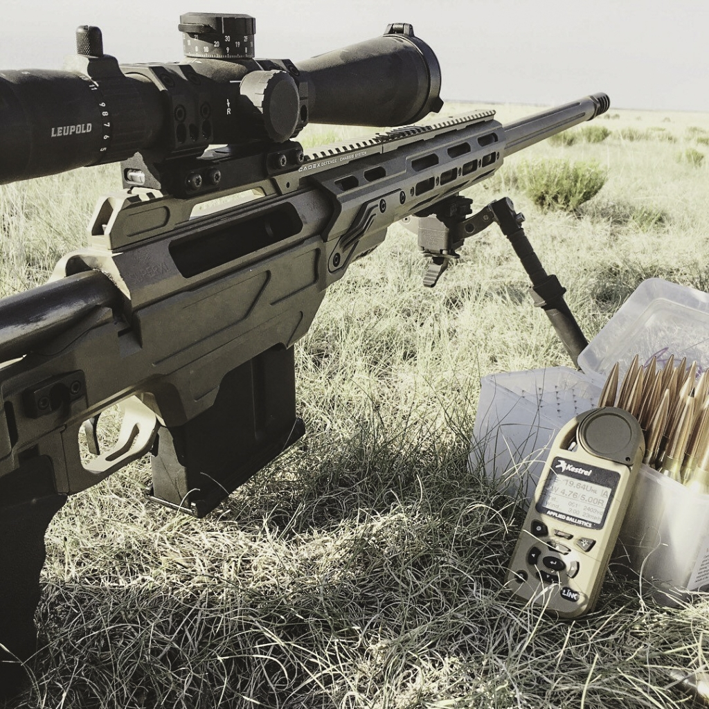 JJ Rock Co JJR-375 rifle in our Dual Strike chassis
