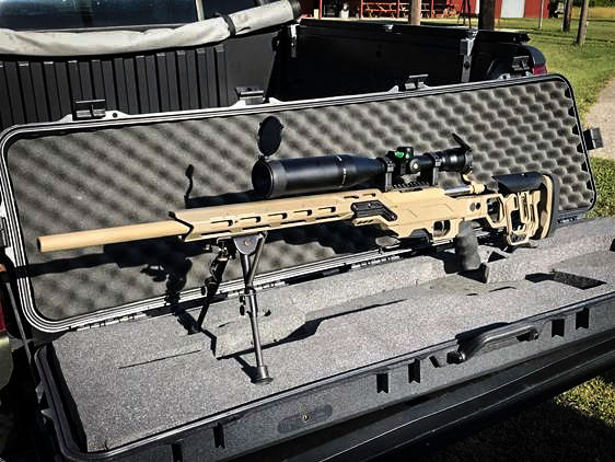 Remington 700 5R and our Lite competition chassis