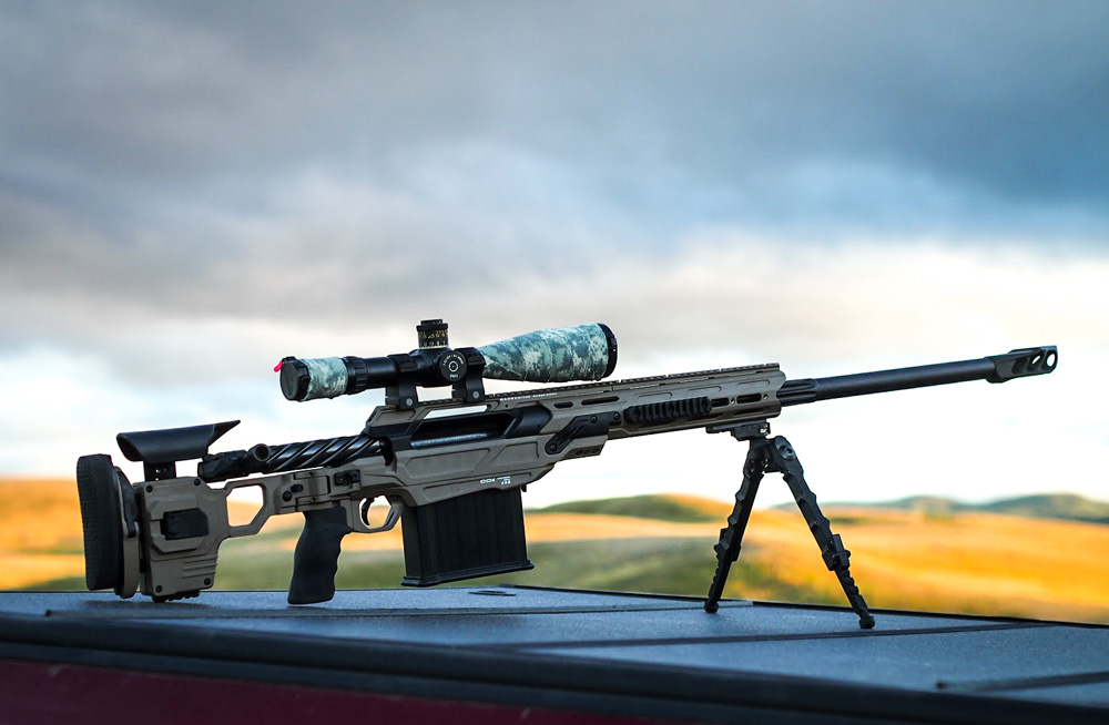 CDX-50 TREMOR 50BMG in the open fields of British-Columbia