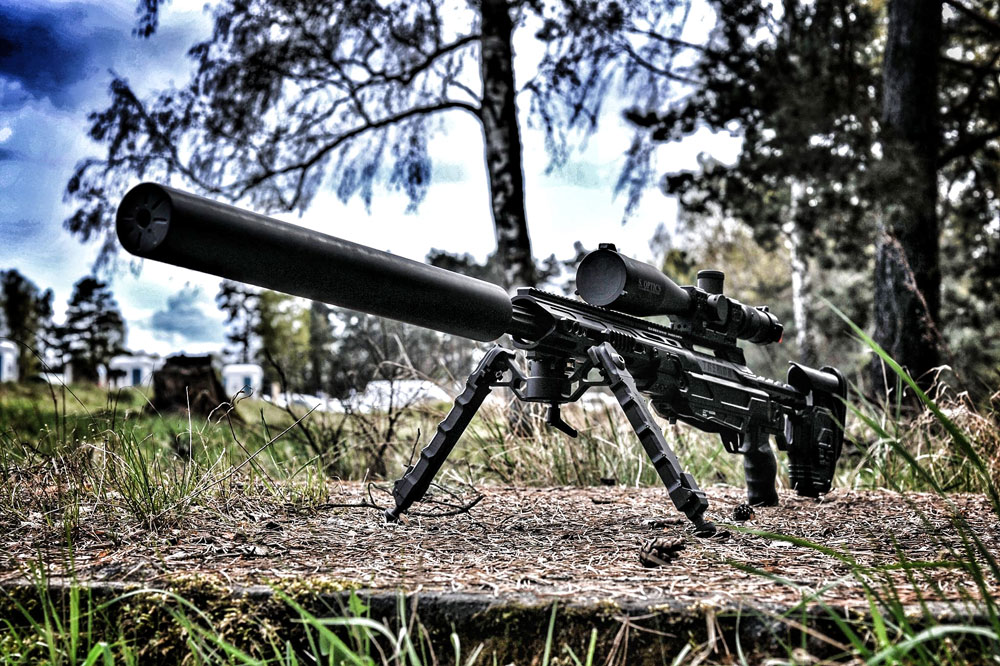 CDX-50 Tremor with Suppressor - From Poland