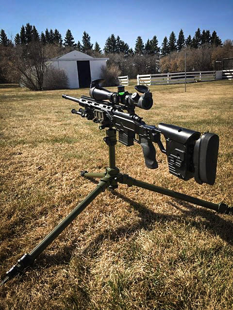 Rem700 short action in a Cadex Lite Strike chassis