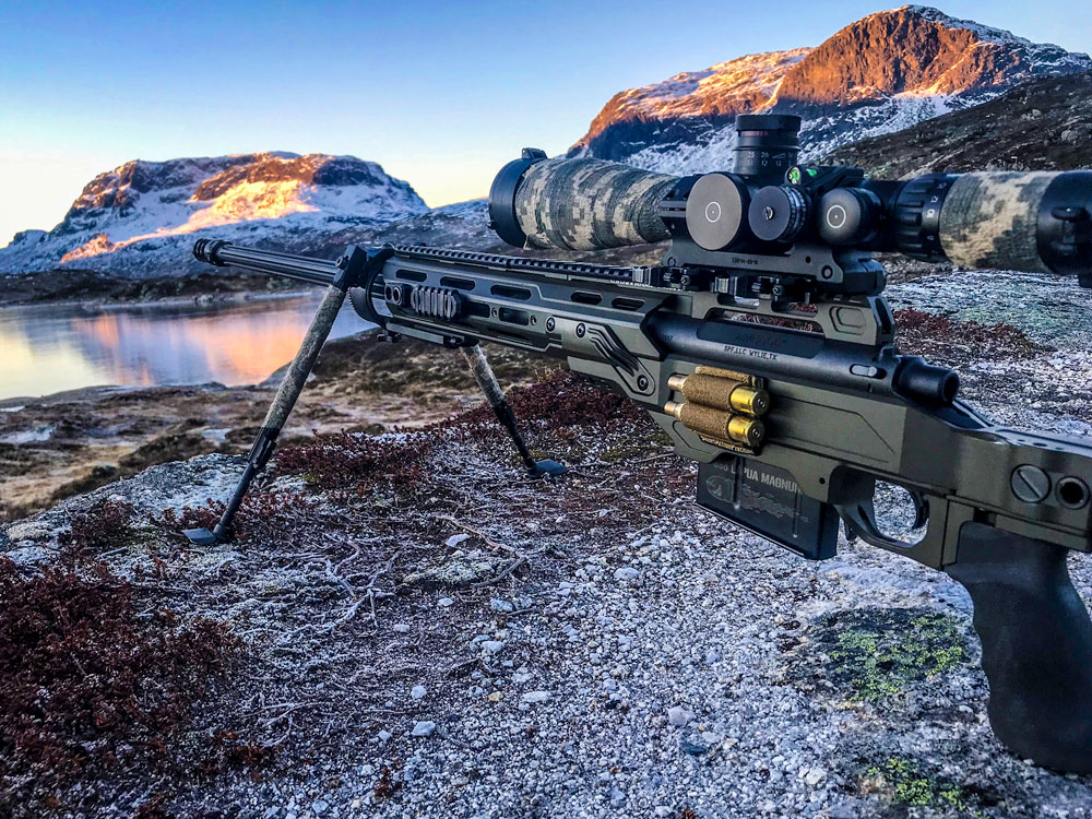 Cadex Dual strike chassis for 338 Lapua Magnum