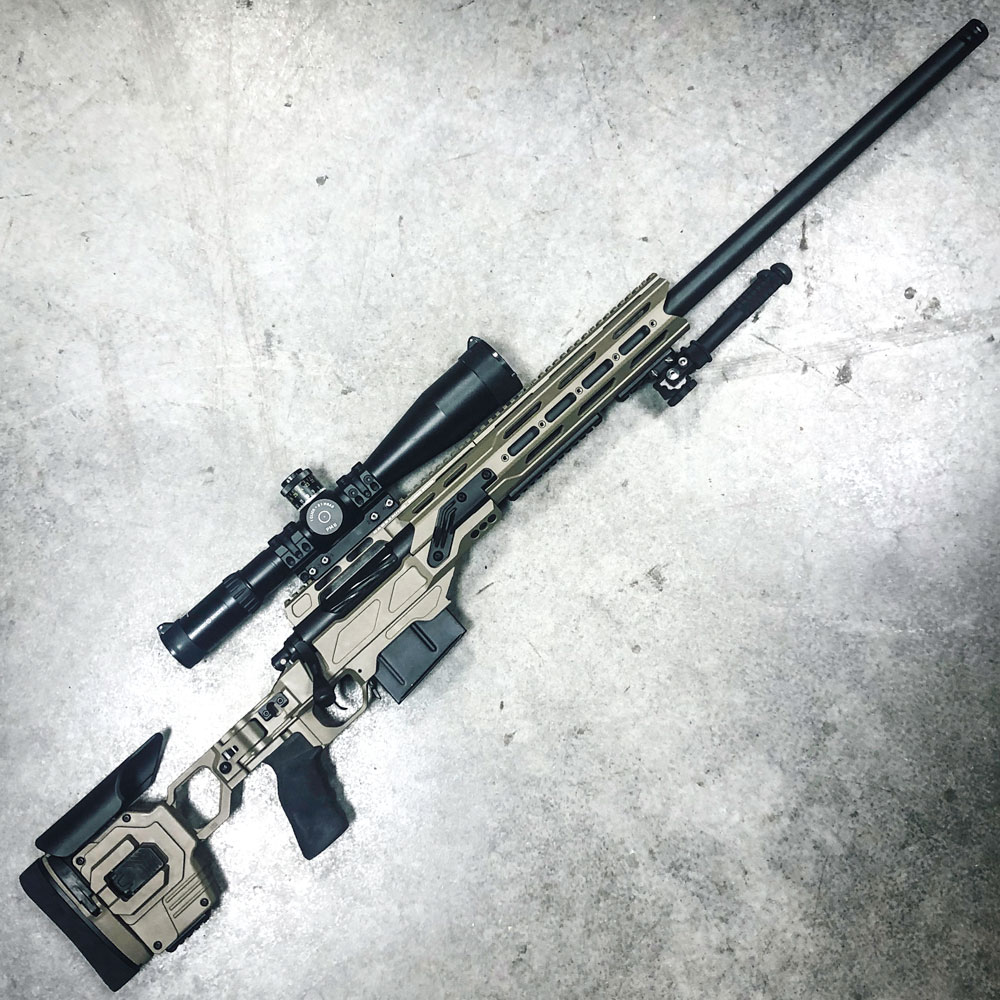 Dual Strike chassis 300 Win Mag from Precision Rifle Company