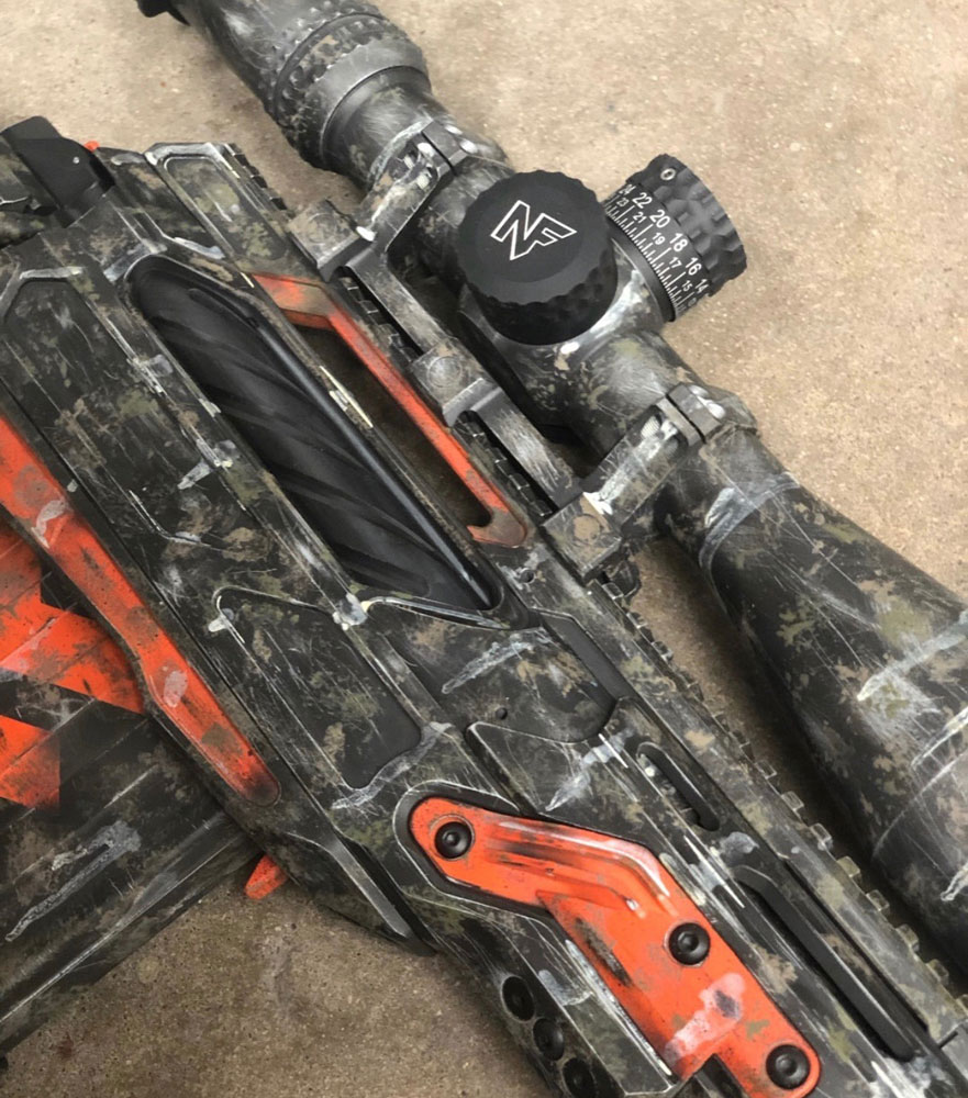 Unique custom paint job from Black Sheep Arms, called End Of World