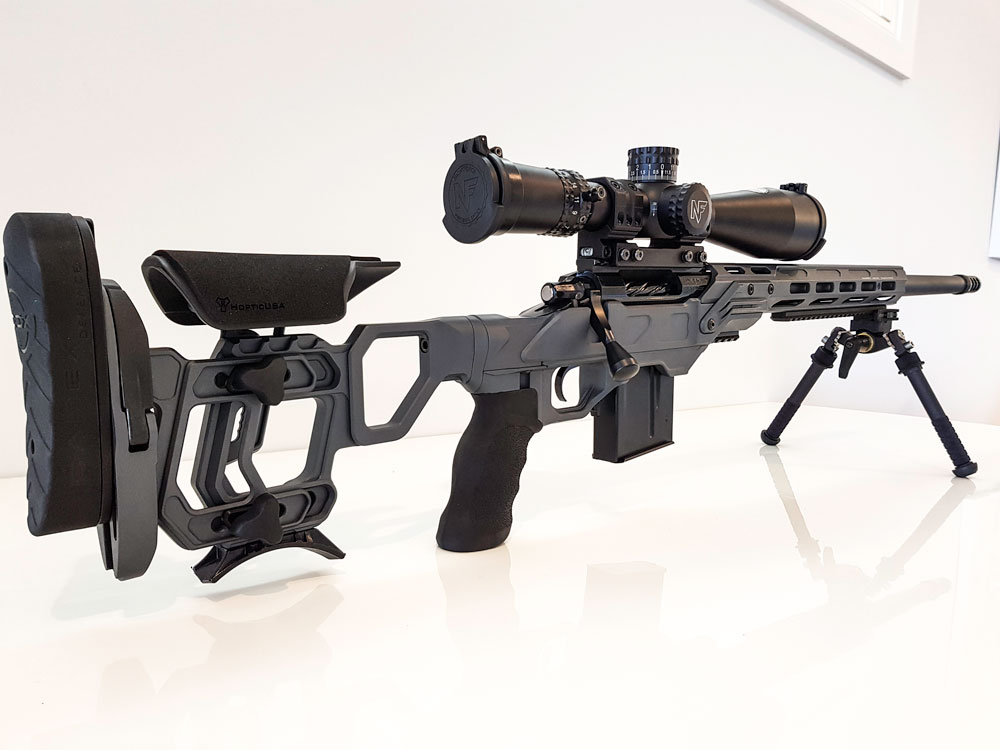 Defiance Deviant action 6x47 Lapua in a Cadex Field Competition chassis