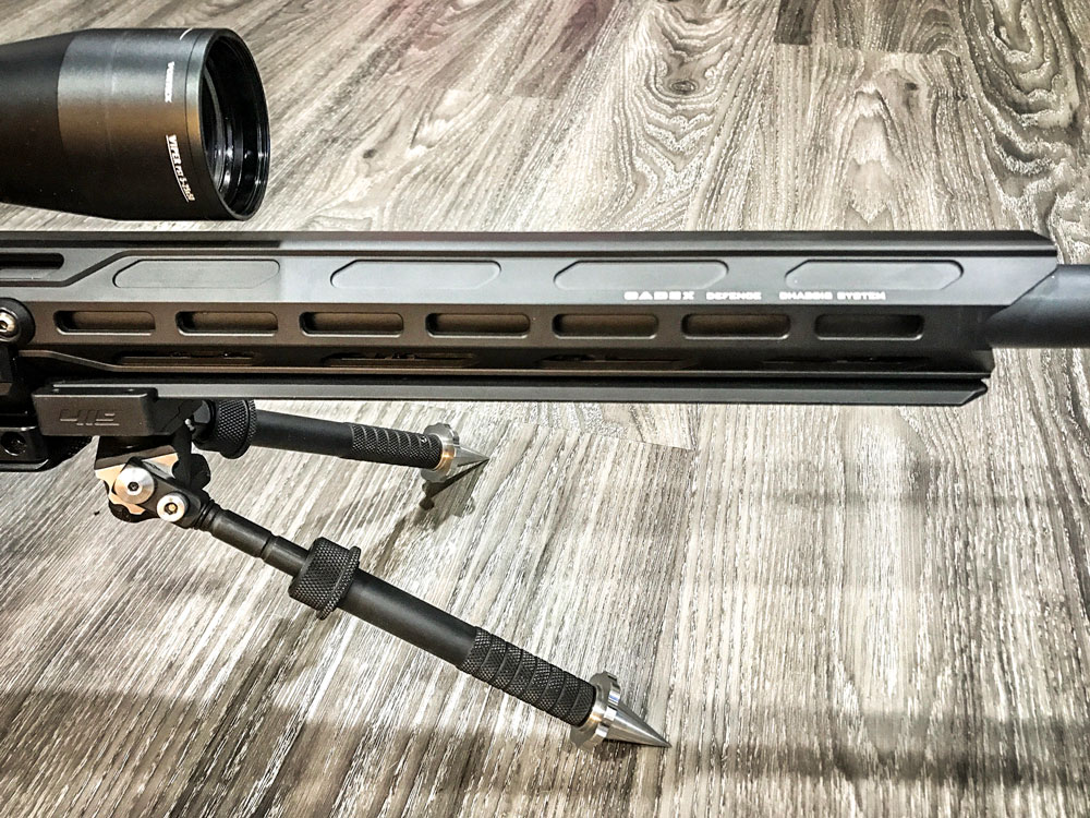 Field Competition with the new M-LOK Arca rail fore-end tube