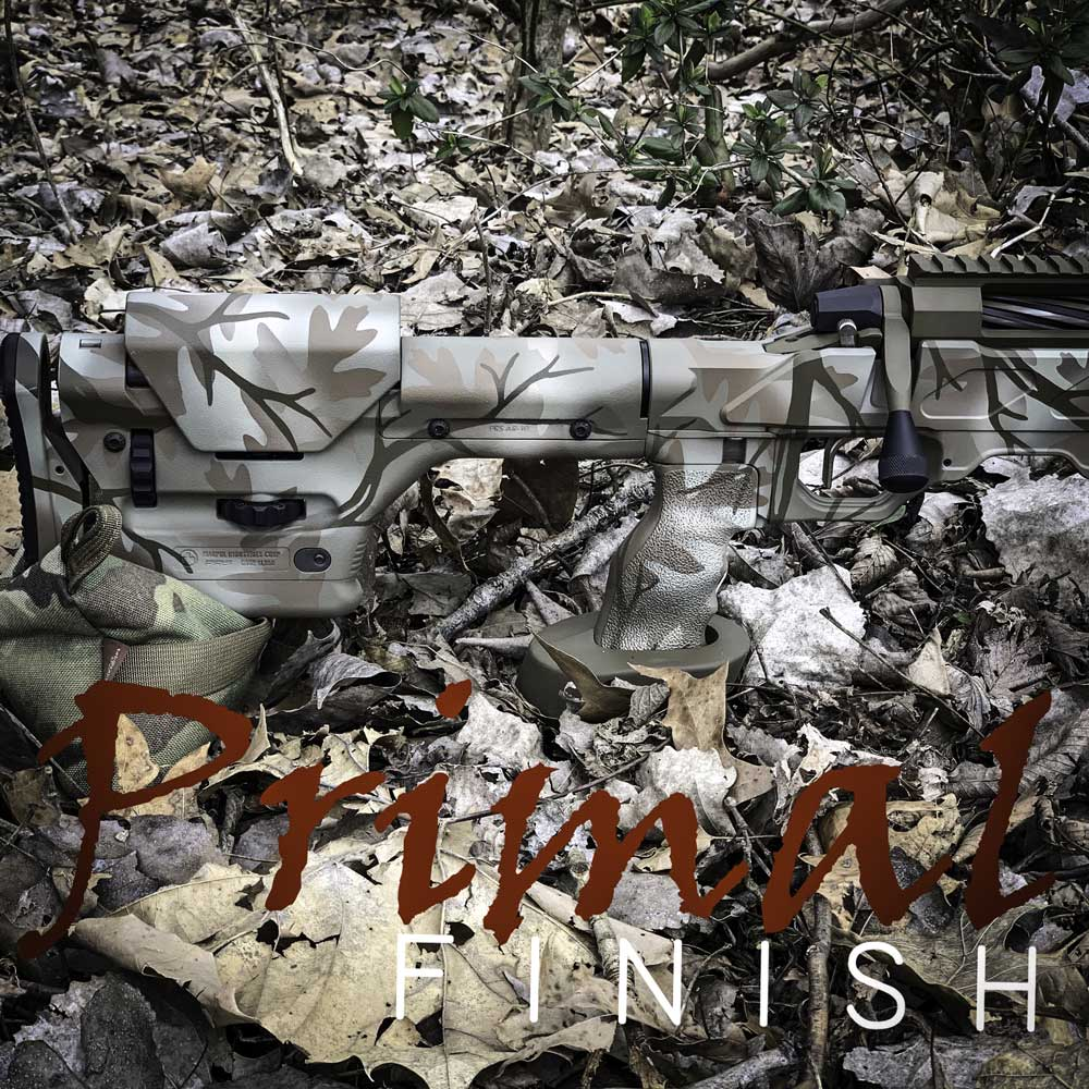 Can you spot the rifle? Courtesy from Primal Finish
