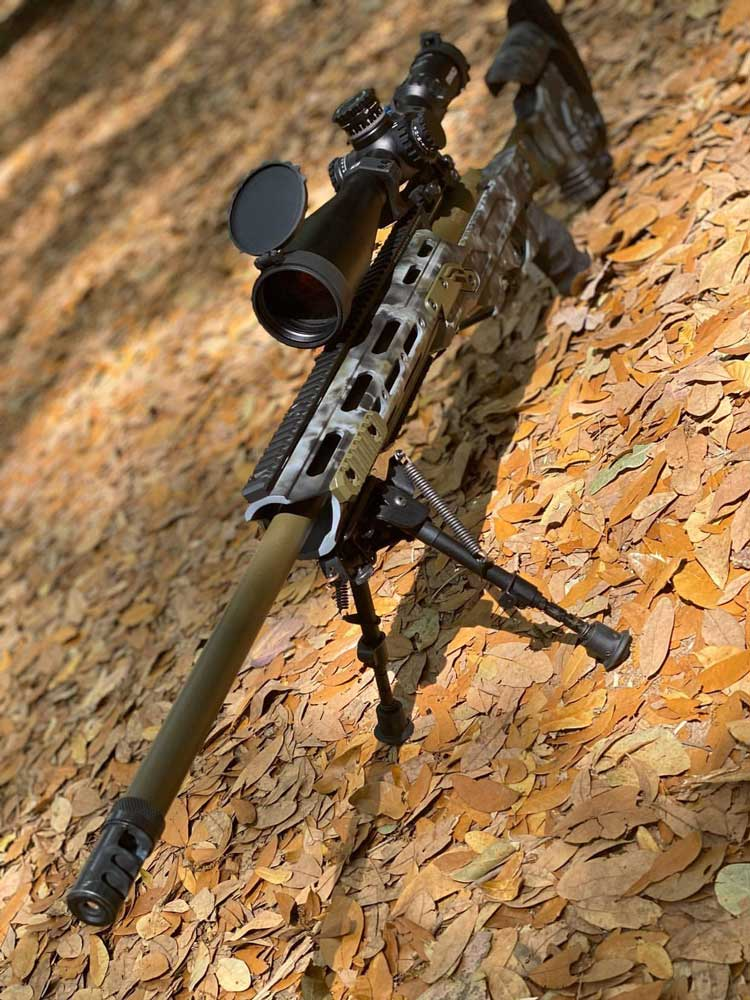 Deep South Tactical - Cadex Dual Strike in 6.5 Creedmoor cerakoted by Savage Customs