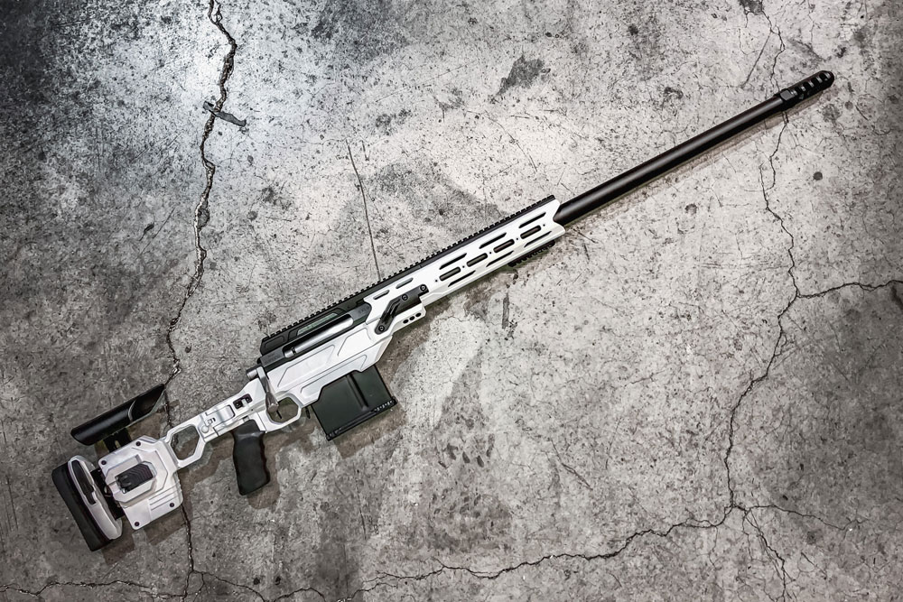 Wow! That's a sweet build from DMR LLC of our Dual Strike chassis in 375CT