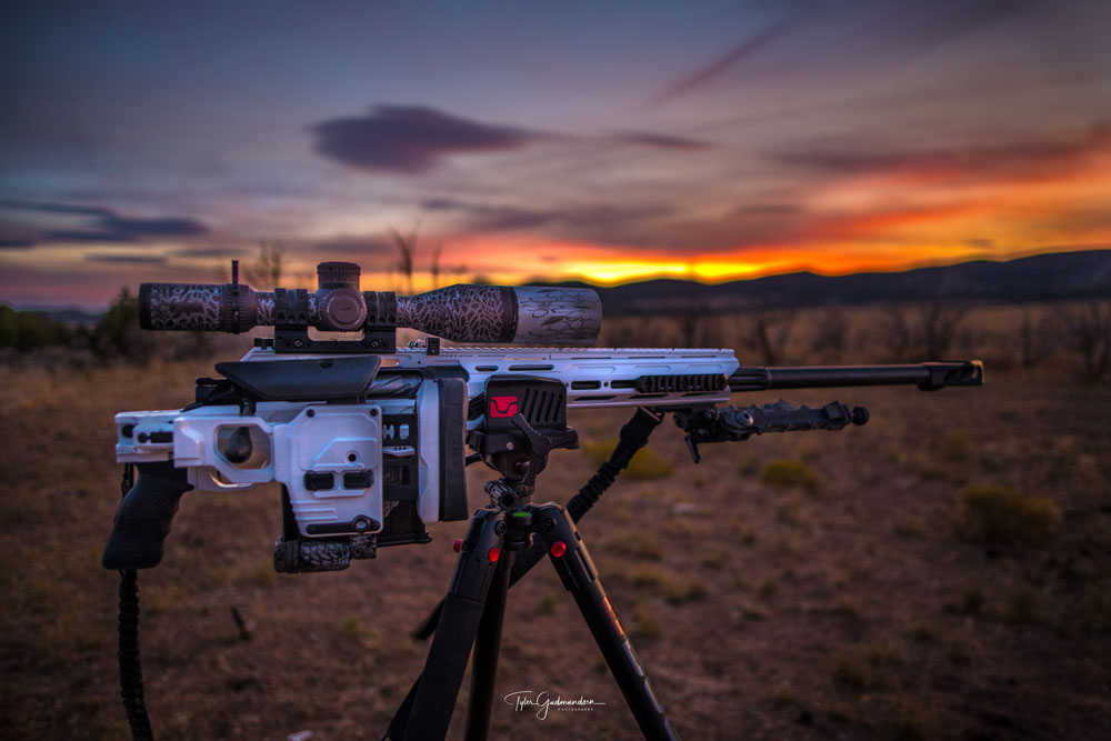 Pictures from Gudmundsen Photography. He knows exactly how to highlight the beauty of this rifle.