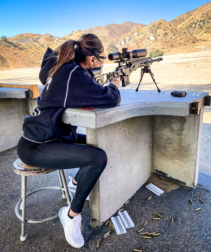 """""""I shot pretty good with this rifle accuracy is 100% love it"""" - Sherry"""