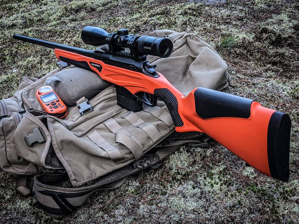 CDX-R7 SPTR precision hunting rifle