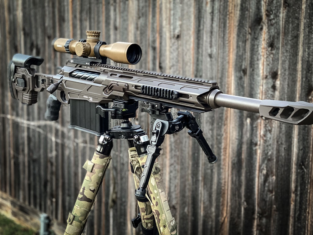 "CDX-50 Tremor 20"" 50BMG designed specifically for LE specialized vehicle interdiction"