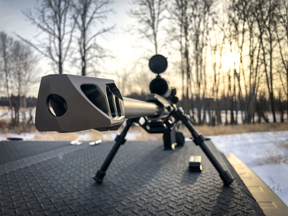 CDX-50 Tremor equipped with our famous MX1 muzzle brake
