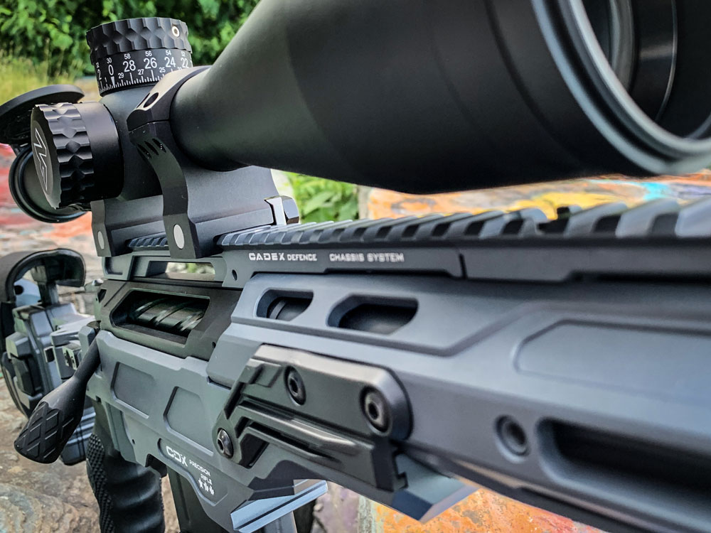 CDX-33 Patriot chambered in 300 Norma