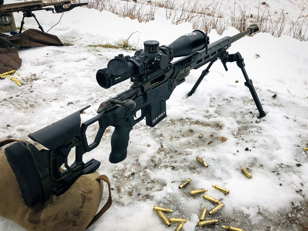 CDX-R7 FCP chambered in 6.5 Creedmoor