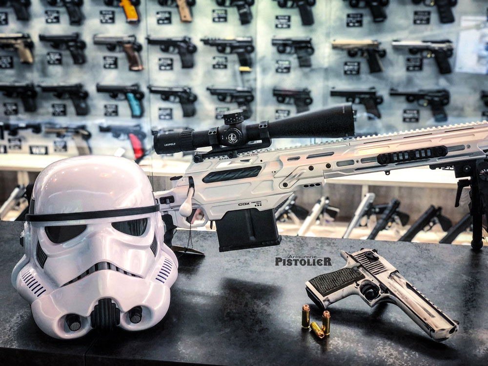 """""""May the force be with you"""" Courtesy of Pistolier SAS"""