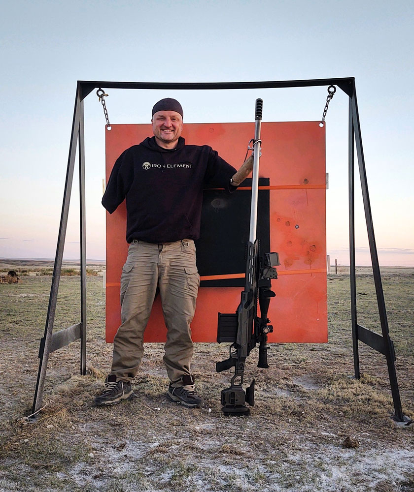 Chamber Brake hit the 5280 yards with our Cadex Dual Strike chassis and our CDX-50 Tremor action
