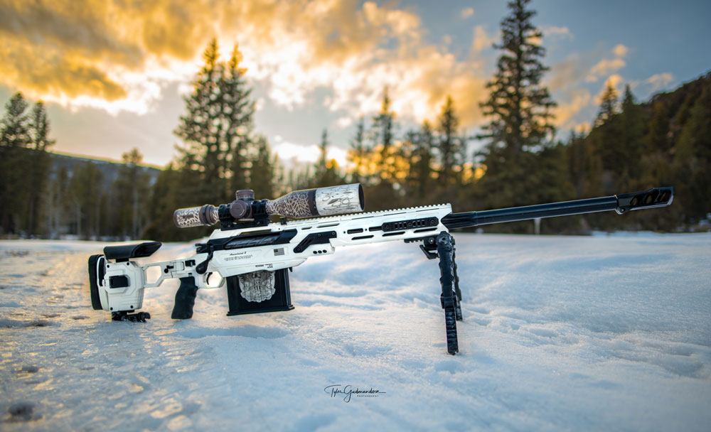 Once again, Tyler comes up with a stunning picture of his CDX-50 Tremor. Picture: Tyler Gudmundsen